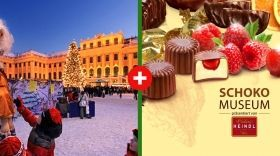 Csokigyár + Schönbrunni kastély vására